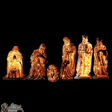 Kerststal - Tekens 6 stuks