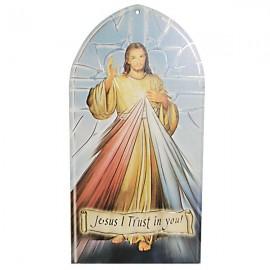 Cadre du Christ Miséricordieux à suspendre