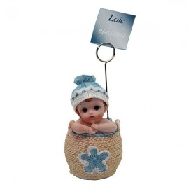 Figurine bébé porte photo