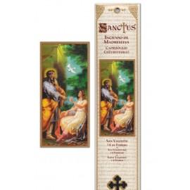Pochette encens - Saint Valentin - 15 pces