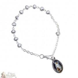 Bracelet dizainier cœurs - personnalisable