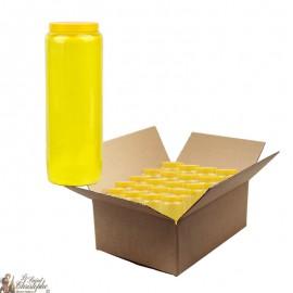 Blue novena candle - cardboard box 20 pieces